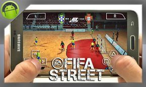 Download Fifa Street 2 Ppsspp For Android And Iphone Iphone Games Android Mobile Games Street Game