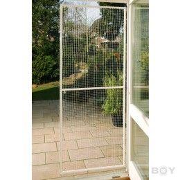 cat net door for balconies and terraces