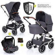 3in1 Kinderwagenset Salsa 4 Inkl Babywanne Sportsitz Babyschale Zubehorpaket Street In 2020 Kinderwagen Set Kinder Wagen Babywanne