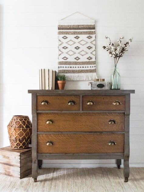 Painted Furniture :: Pistol Annie Empire - The Driftwood Home Refurbished Furniture, Paint Furniture, Repurposed Furniture, Furniture Projects, Furniture Makeover, Furniture Design, Antique Painted Furniture, Antique Dressers, Diy Dresser Makeover