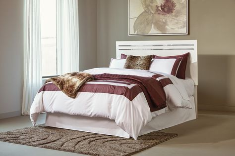 39 Ashley White Furniture Ideas, Brillaney Queen Panel Bed With Lights