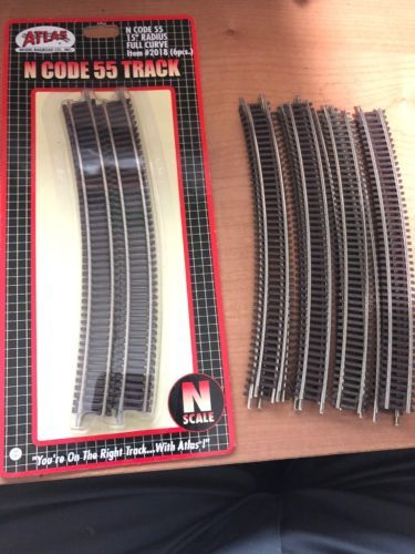 Track 69813 19 Pcs Atlas N Gauge Code 55 2028 New BUY IT NOW ONLY 15 On EBay