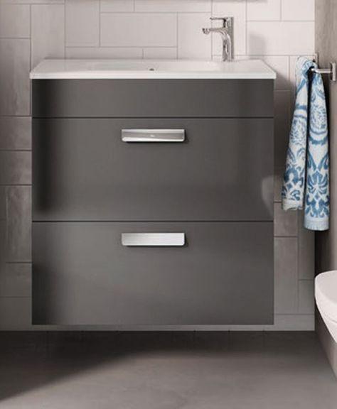 Mueble De Bano Unik Debba Compact De Roca En 2020 Con Imagenes