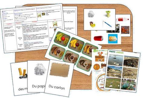 ressources cycle 2 le tri et le recyclage des déchets