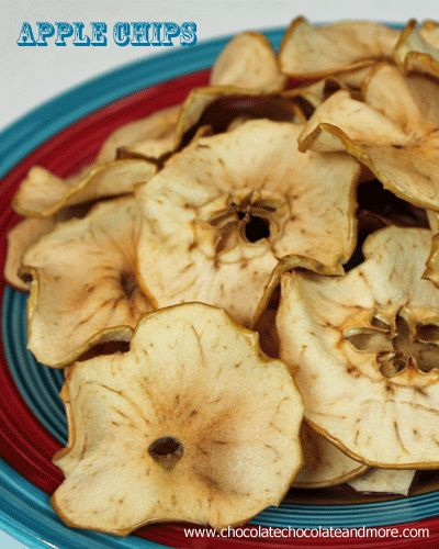 Spiced Apple Chips-the perfect snack for any time of day!  Also Quakers has a new popcorn cookie-like shape, with Creme Brulee flavor and they are delicious....