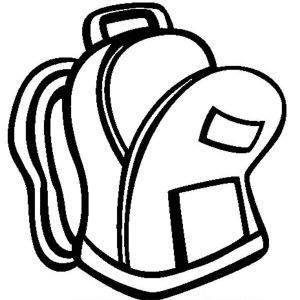 How To Draw Backpack Coloring Pages Best Place To Color Coloring Pages School Coloring Pages Drawing Bag