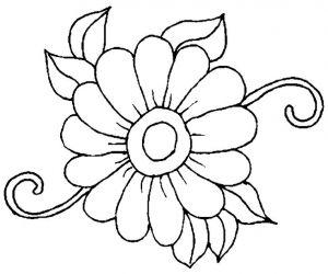 Pin Auf Blumen Vorlage