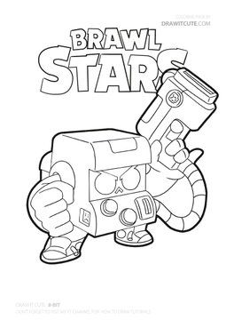 Carl From Brawl Stars Brawlstars Fanart Howtodraw