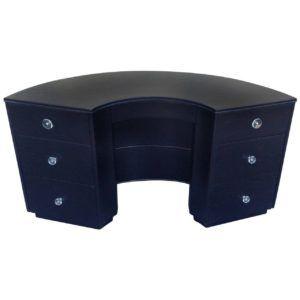 Half Round Office Desk
