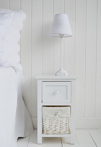 Small White Bedside Table Efistu Com In 2020 White Bedside Table Small White Bedside Table Narrow White Bedside Table