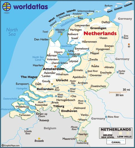 Map Of Germany And Holland.Pinterest