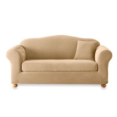 Sterling Cream 2 Piece Sofa Slipcover