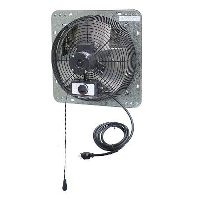 Iliving Ilg8sf12v T 12 Inch 3 Speed Attic Garage Ventilation Shutter Exhaust Fan In 2020 Exhaust Fan Garage Ventilation Ventilation Exhaust Fan