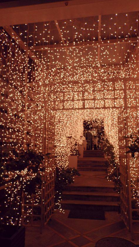 Christmas spirit on We Heart It Desi Wedding Decor, Prom Decor, Wedding Stage Decorations, Fall Wedding, Dream Wedding, Wedding Ideas, Christmas Aesthetic, Christmas Mood, Xmas