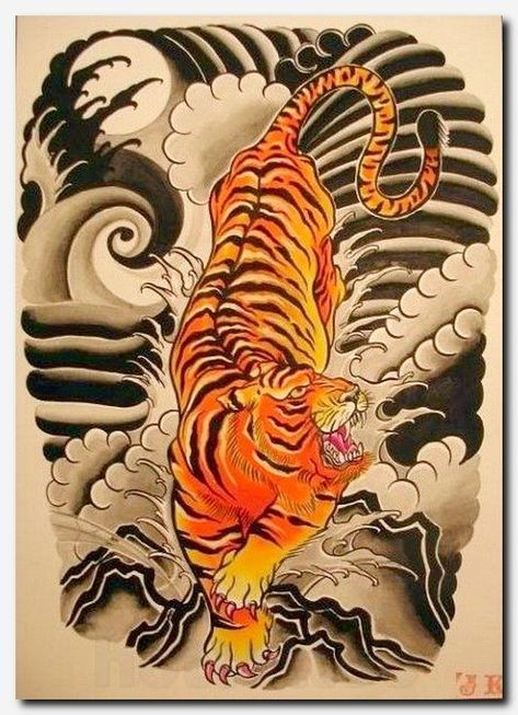 Marked For Life Tattoos And Gangs Yin Yang Tiger Tattoo Sleeve