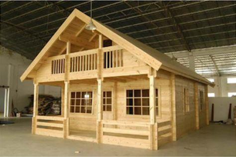 Homesteader Log Cabin
