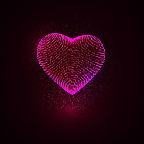 Design Art Heart Symbol background