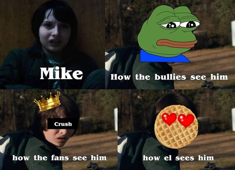 poor MIke | Stranger Things