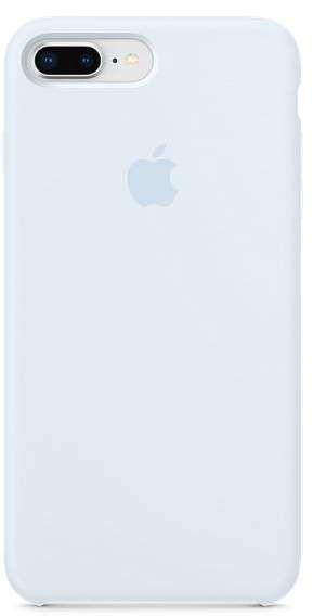 Apple Iphone 8 Plus 7 Plus Silicone Case Sky Blue Silicone Iphone Cases Iphone Black Iphone Cases