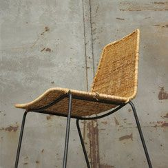 Basket Chair Im Stile Von Gianfranco Legler Conni Kern Interior