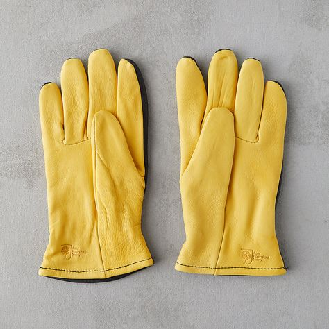 Yellow Pro Gold Ladies Bramble Gardening Gloves