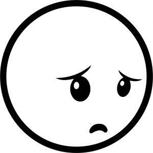 Emoticons Shy Coloring Page Coloring Pages Emoticon Color