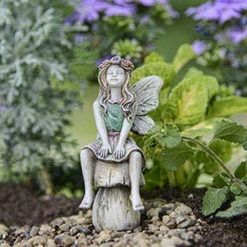 Garden Fairies Figurines Fairy, Fairy Garden Statues Canada