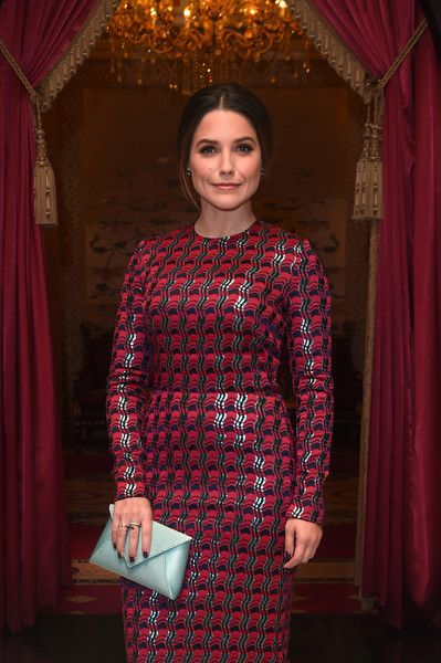 Actress and activist Sophia Bush poses before meeting with jurors during the Ajyal Youth Film Festival.