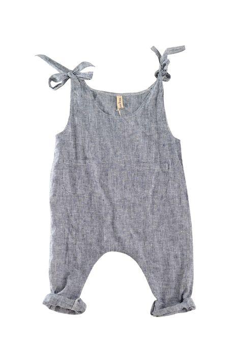 YOli & Otis runaway jumpsuit. Hemp/Cotton. Herbally dyed. | kids style