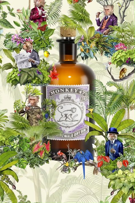 A gin with 47 botanicals? Of course! Discover the German gin with a wunderbar taste.