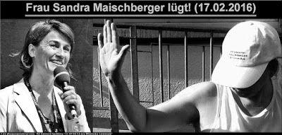 Blog: Frau Sandra Maischberger lügt (17.02.2016) #Flüchtlinge  #HartzIV  #Maischberger