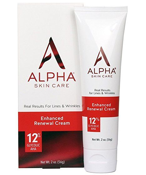 Alpha Skin Care Enhanced Renewal Cream 12 Glycolic Aha Real Results For Lines And Wrinkles Fragranc Fragrance Free Products Anti Aging Formula Renew Skin