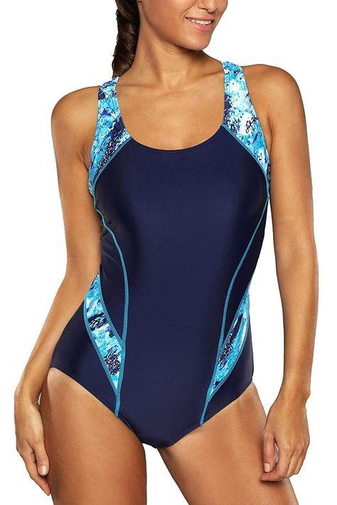 CharmLeaks Women's Sport Pro One Piece Swimsuit Athletic