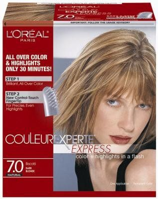 Loreal Couleur Experte Express Hair Color Highlights 7 Dark Blondebiscotti Pack Of 3 Visit The Affili Hair Color Hair Color Highlights Colored Highlights