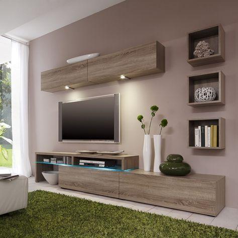 Wohnwand Colourart Vi 6 Teilig Schlafzimmer Wohnzimmer