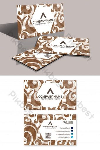 Chocolate Color Theme Business Card Eps Template Ai Free Download Pikbest Printable Invitation Card Invitation Card Design Flyer Design Templates
