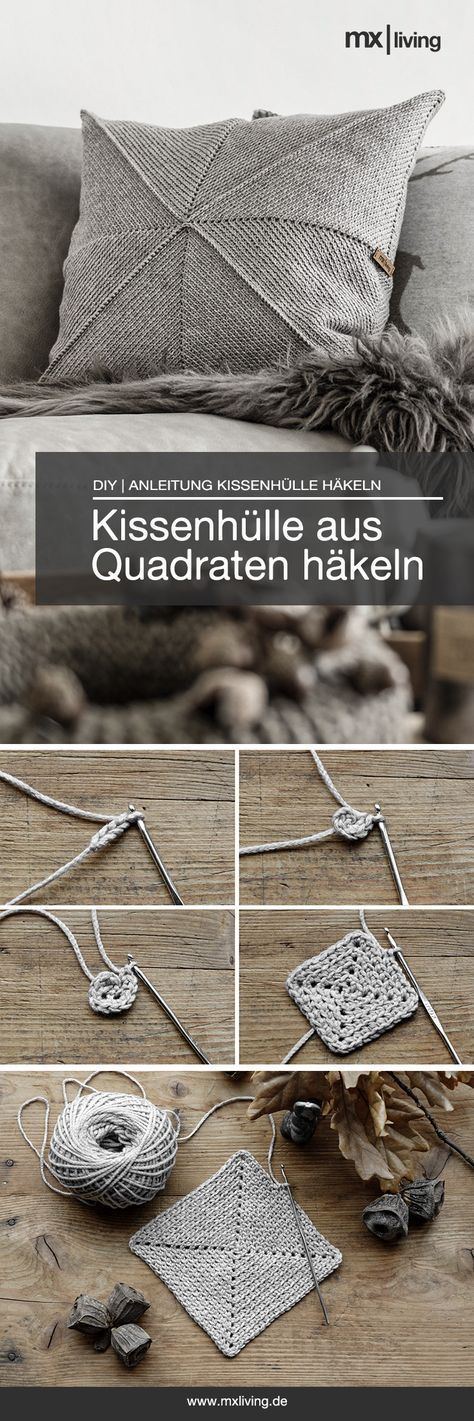 Photo of DIY | Kissenhülle häkeln – mxliving