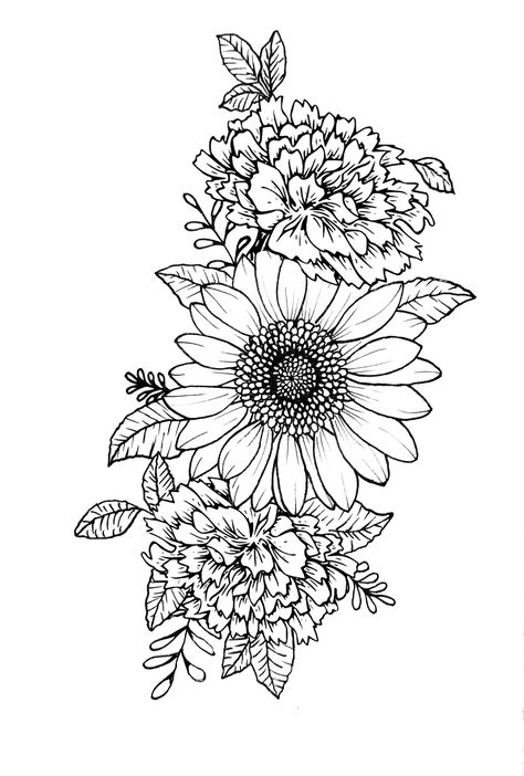 Shoulder Cover Up Tattoos, Cover Up Tattoos For Women, Hip Tattoos Women, Tattoos For Women Half Sleeve, Shoulder Tattoos For Women, Flower Tattoos On Shoulder, Women Forearm Tattoo, Tattoo Designs For Women, Carnation Flower Tattoo