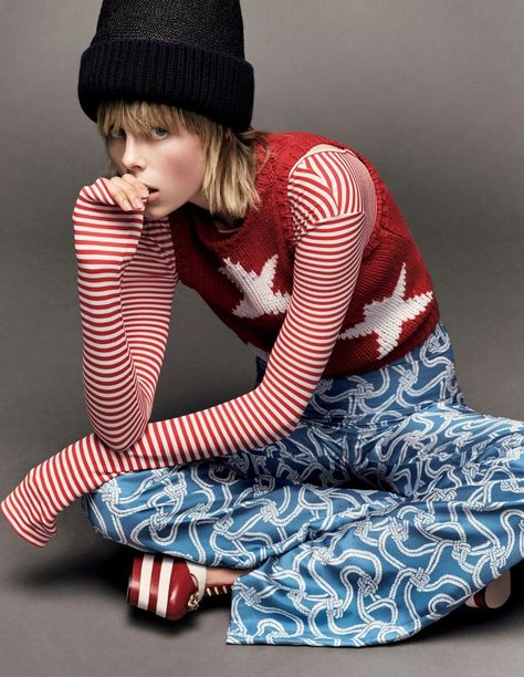 Edie Campbell Is Lensed By Luigi & Iango As 'Edie the Wild Child' For Vogue Japan April 2016 — Anne of Carversville