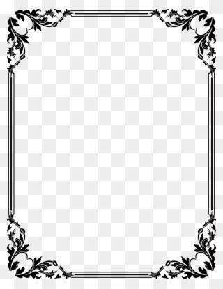 Free Download Clip Art Border Clipart Frames Border Certificate Design Png Download Clip Art Frame Border Design Clip Art Frames Borders