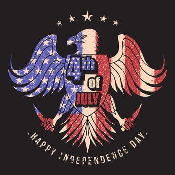 نسر علم الولايات المتحدة الامريكية الرابعة Jully التوضيح النواقل رابع أمريكا أمريكا Png والمتجهات للتحميل مجانا In 2020 Vector Illustration Usa Flag Vector Images