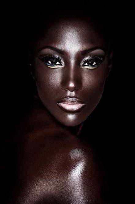Photography Dark Beauty Goddesses 32 Super Ideas Makeup Photography Dark Skin Models Dark Beauty