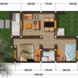 8 Denah Rumah 3 Kamar Ukuran 7x9 Paling Dicari Desain Rumah Eksterior Desain Rumah Bungalow Eksterior Rumah Modern