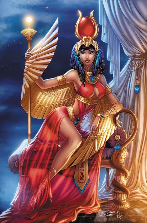 Chronicles the life and first romances of the Egyptian Goddess Isis.You can find Egyptian goddess and more on our website.Chronicles the life and first rom. Isis Goddess, Goddess Art, Black Love Art, Black Girl Art, Ancient Egypt Art, Ancient Egypt Fashion, Ancient Artifacts, Ancient Aliens, Ancient Greece