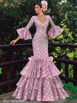 fab5ebf6a traje-de-flamenco-nenufar | flamenco en 2019 | Flamenco, Vestidos de ...