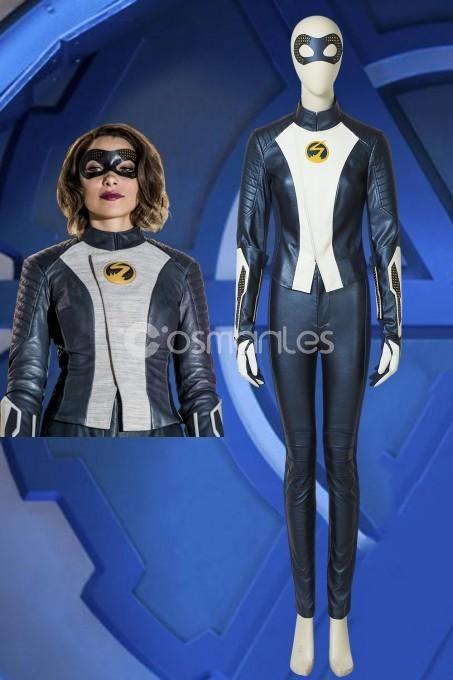 Women Cosplay Costume Nora Allen Speedster Comic Con Fancy Dress Any Size