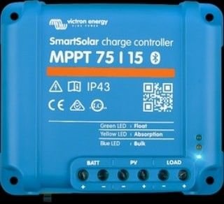 Victron 75 10 Mppt Charge Controller With Bluetooth In 2020 Rv Solar Solar Energy Solar Power
