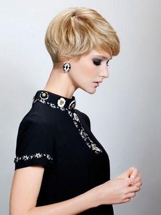 Moderne Frauenfrisuren Im Stil Der 60er Jahre Kurz Haar Frisuren Bubikopf Frisur Kurzhaarfrisuren Kurzhaarfrisuren Damen Hinterkopf