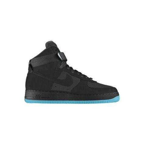 c6b37b2dd59a Nike Air Force 1 High Premium iD Custom Women s Shoes - Black