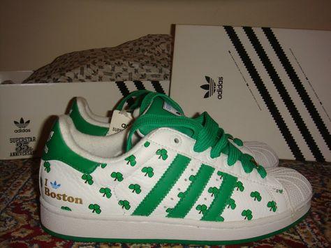 Adidas Superstars - Shamrock I love
